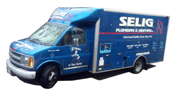 Selig Plumbing is here for you! Call us today.